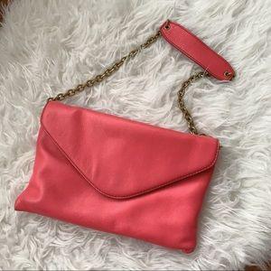 Jcrew Pink shoulder handbag 👜